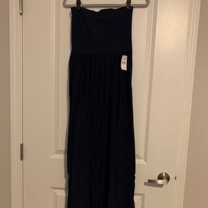 Ann Taylor Loft strapless maxi - new with tags